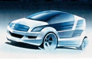 تآريخ صنِآِآعة ـآلسيآرـآت...ِِ~ Mercedes F600 HyGenius Sketch1.jpg