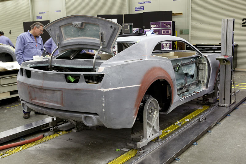 Chevrolet Camaro Concept Design Car Body Design