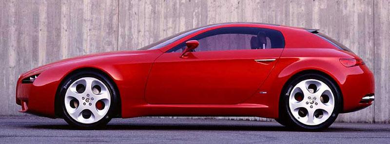 Alfa romeo brera from concept to production car body design for Design brera