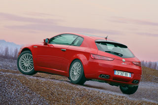 Alfa Romeo Brera Production rear