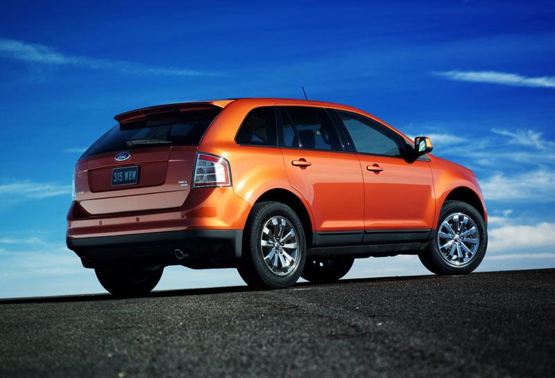 ford edge - car body design