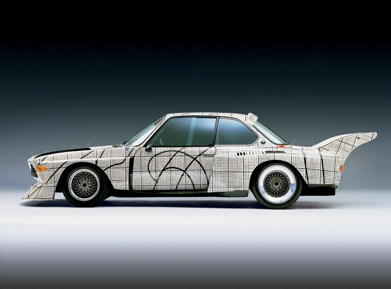 bmw art car 1976 3 0 csl by frank stella car body design. Black Bedroom Furniture Sets. Home Design Ideas