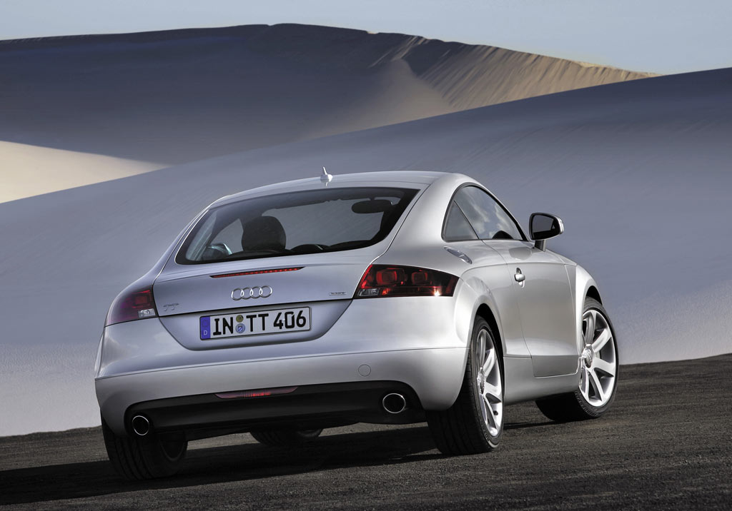 Audi TT Coupe Gallery