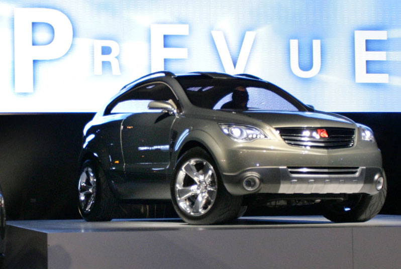 Saturn Prevue Concept Car Body Design