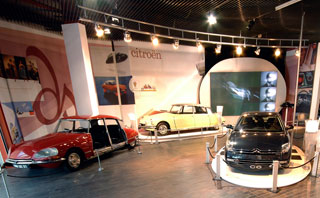 The Art of Citroen Exhibition Beaulieu