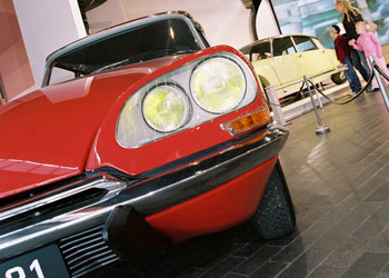 The Art of Citroën Exhibition at the Beaulieu National Motor Museum