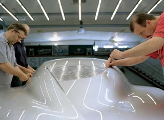Bmw Concept Coupé Mille Miglia 2006 - Design process