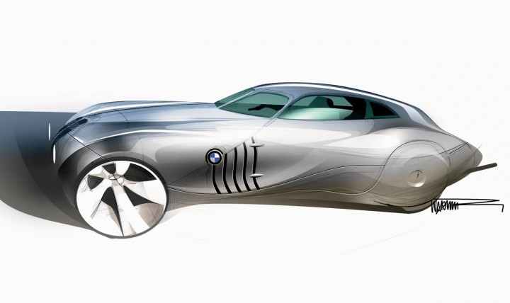 Bmw Concept Coupe Mille Miglia 2006 – Design process