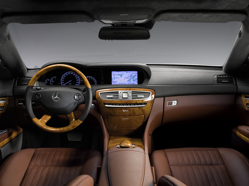 Image gallery 2004 cls interior for Inside mercedes benz