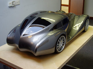 Morgan AeroMax clay model
