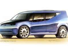 New Designers: Mitsubishi Concept UP-MIEV by Luis Camino