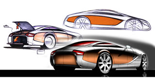 Audi Concept by Enes Canay - Exterior Sketches