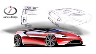 Ferrari 360 replacement concept by Enes Canay