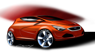 Ford KA St - Design proposal by Enes Canay
