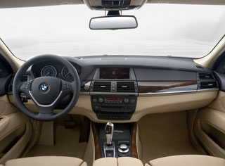 New BMW X5 - Interior