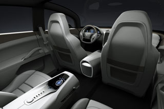 Peugeot 908 RC interior design