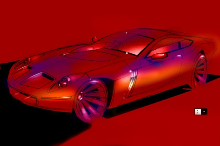 """New Strada"" supercar project"
