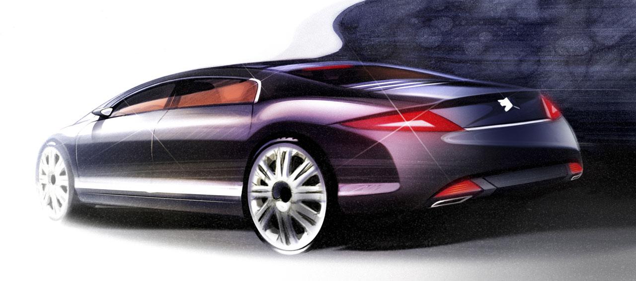 Peugeot 908 Rc Design Sketch Car Body Design
