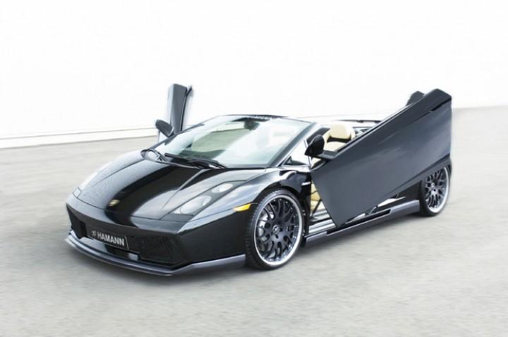 Hamann Lamborghini Gallardo Spyder Car Body Design