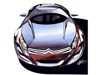 [Présentation] Le design par Citroën Citroen-C-Metisse-Design-Sketches-4
