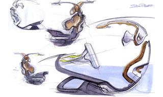 [Présentation] Le design par Citroën Citroen-C-Metisse-Interior-Sketch-4