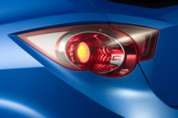 Chevrolet WTCC Ultra Concept tail light