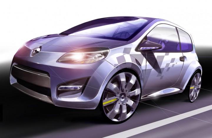 Renault Twingo Concept Car Body Design