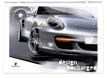 Porsche on Among The Themed Calendars Prepared By Porsche For 2007 Is  Design