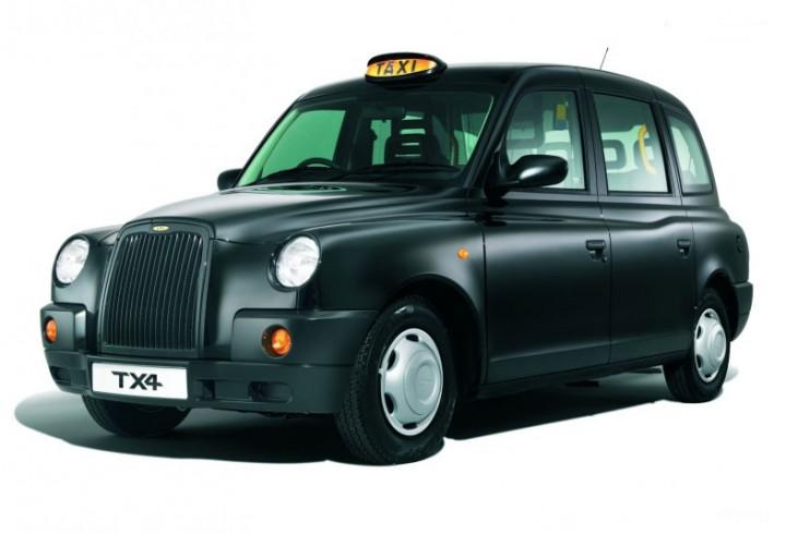 Uk Taxi Car: LTI TX4 London Taxi
