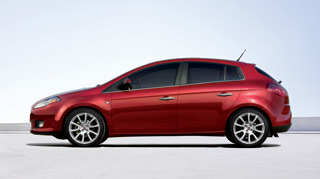 New Fiat Bravo - Side view