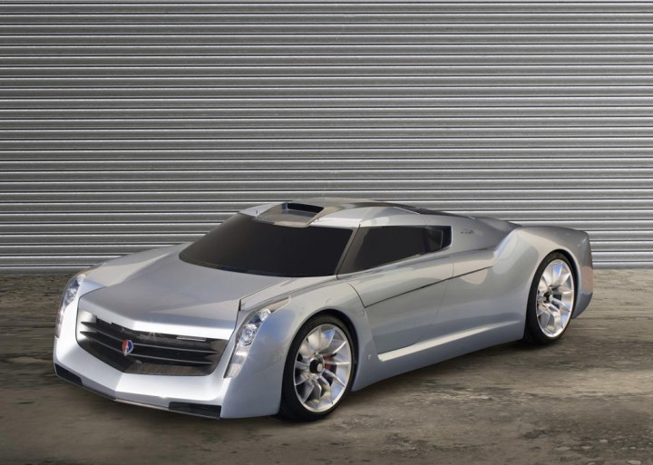 GM TurbinePowered EcoJet Concept Car Body Design New Alcoa Home Exteriors Concept