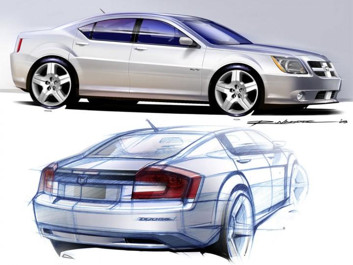 Dodge Avenger Concept Design Images Car Body Design