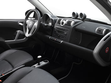 New Smart fortwo - interior