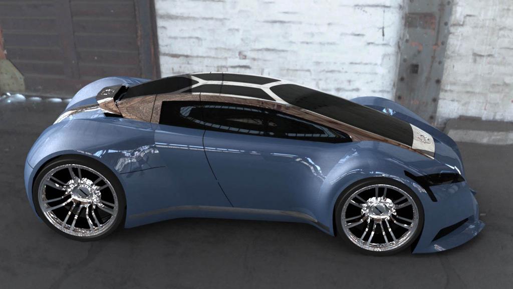 Volvo tcc tandem concept car for 4 box auto in tandem