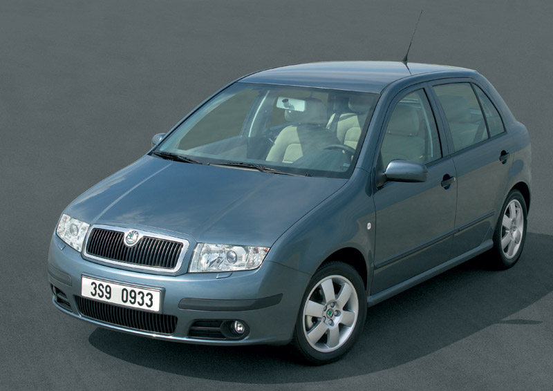 rank skoda car pictures 2005 skoda fabia. Black Bedroom Furniture Sets. Home Design Ideas