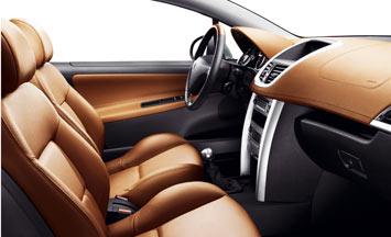 Peugeot 207 cc car body design for Peugeot 207 interior