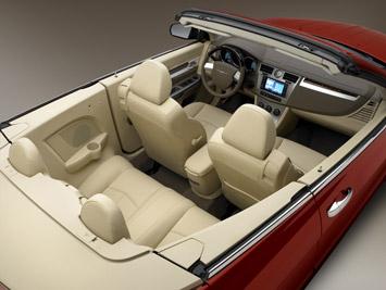 2008 Chrysler Sebring Convertible Car Body Design
