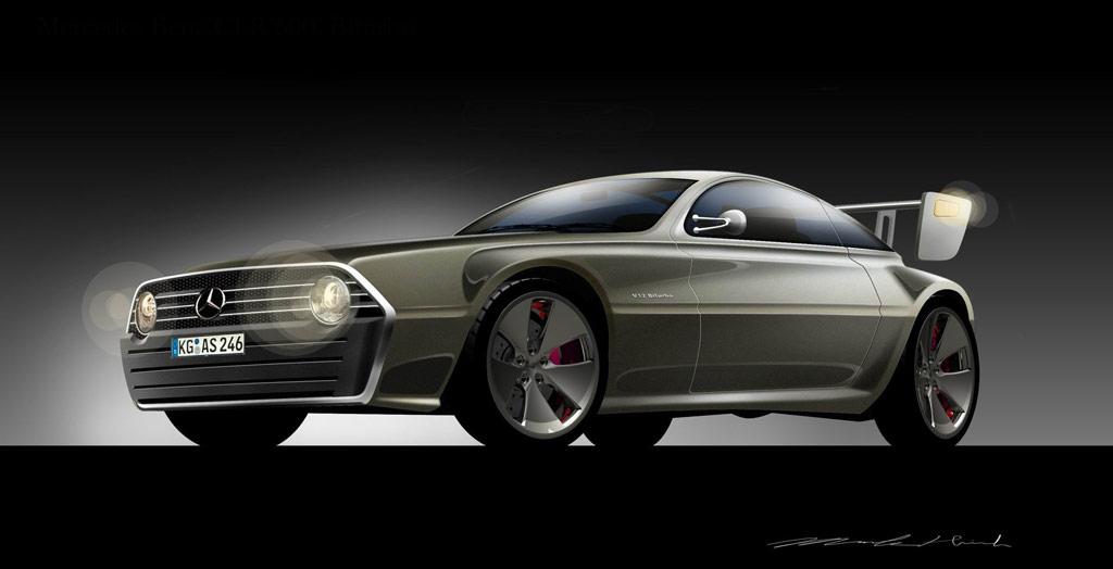 mercedes cool cars
