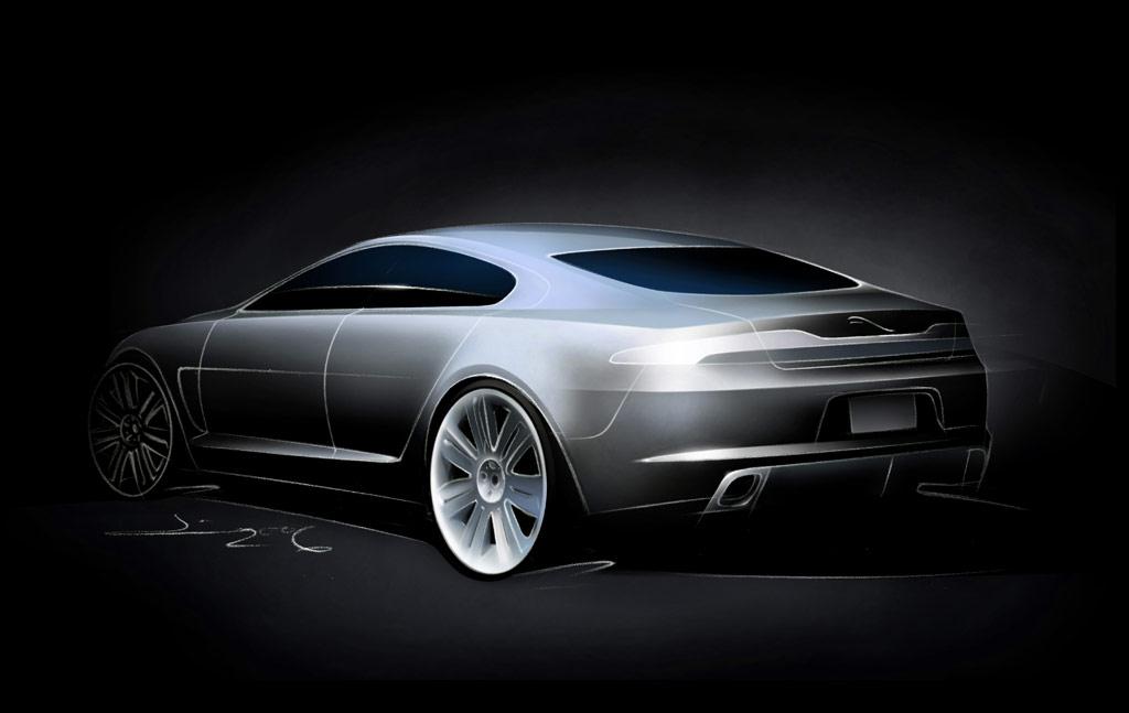 Jaguar C-XF Concept Gallery