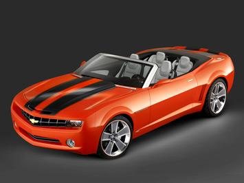 Camaro Convertible on Based On The Camaro Concept  The Chevrolet Camaro Convertible Concept