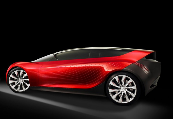 Mazda Ryuga Concept - Car Body Design