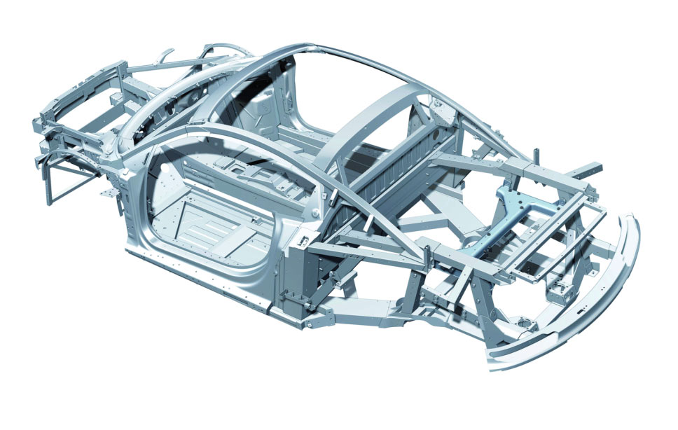 fourtitudecom why does rolls royce use space frame