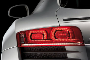 Audi R8 - LED rear lamp detail