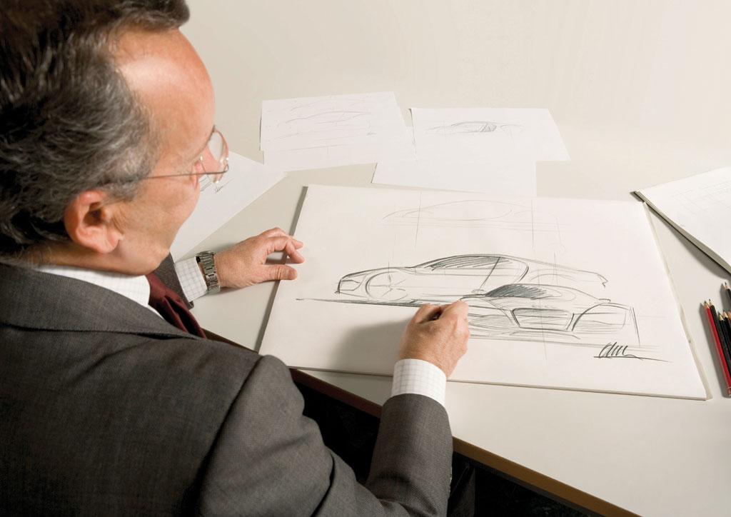 Walter de' Silva and the Audi R8