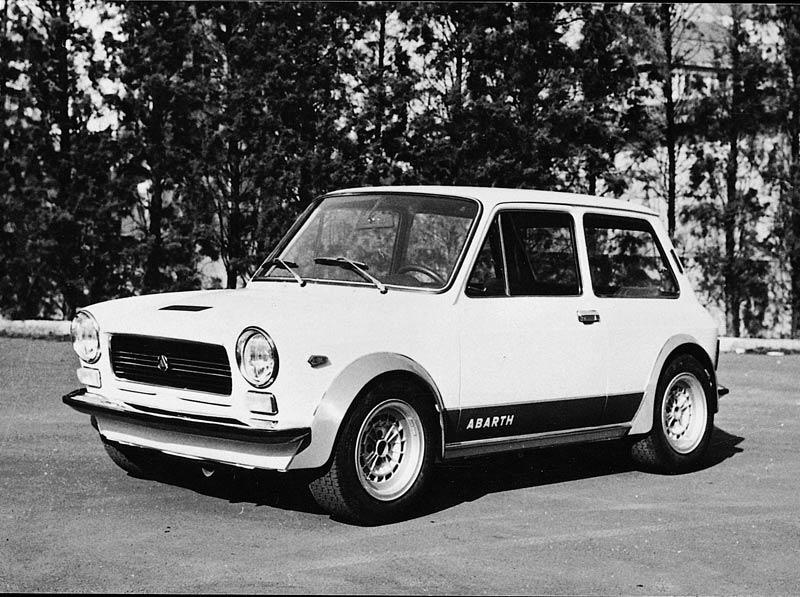 Kleiner Italo Renner Autobianchi A112 Abarth 1971 1982