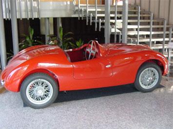 Bertone Barchetta Car Body Design
