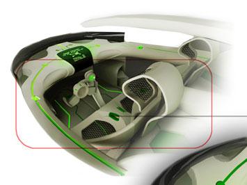 IED beON: interior design - Car Body Design