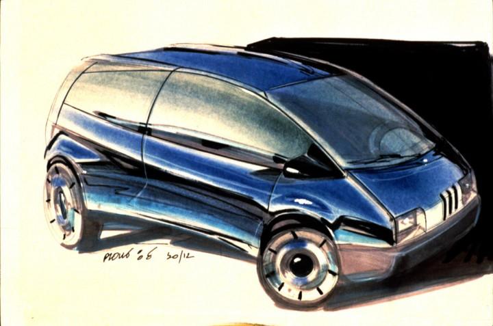 Renault Twingo 1 1992 Design History Car Body Design