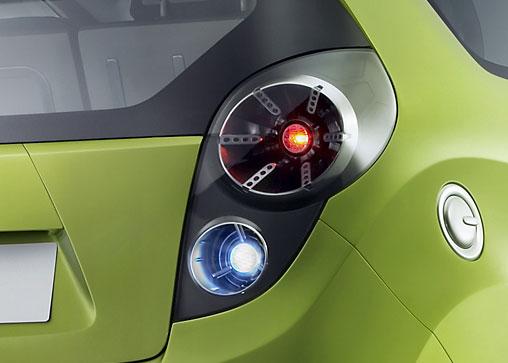 Chevrolet Beat Concept Rear Car Body Design