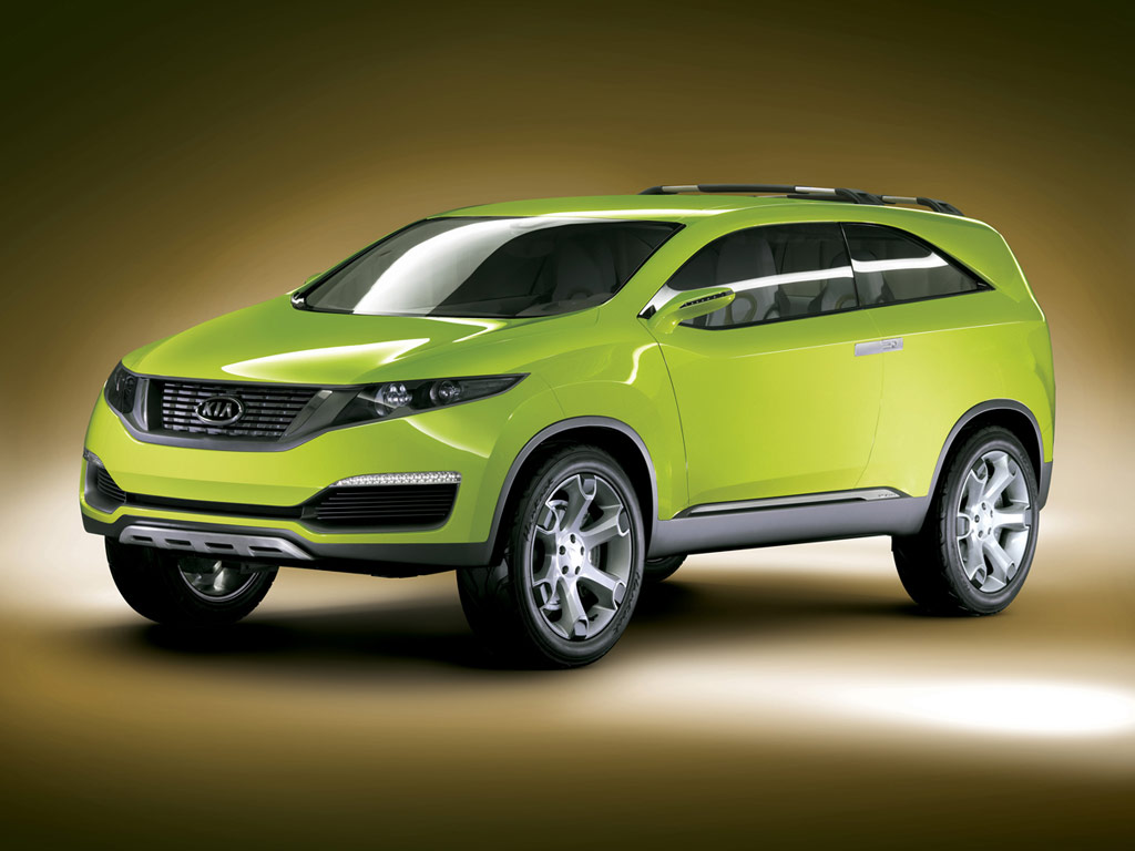 Kia KND4 SUV Concept  Car Body Design